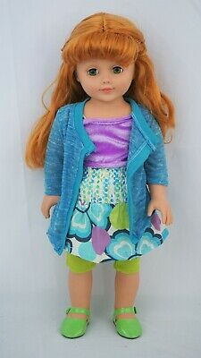 """Madame Alexander 18"""" doll Red hair and green eyes"""
