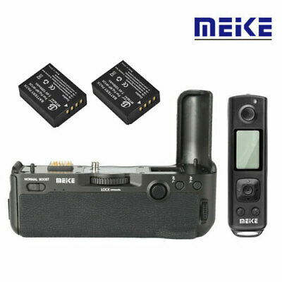Meike MK-XT3 Pro Battery Grip +2pcs NP-W126 Batteries for Fujifilm X-T3 Camera