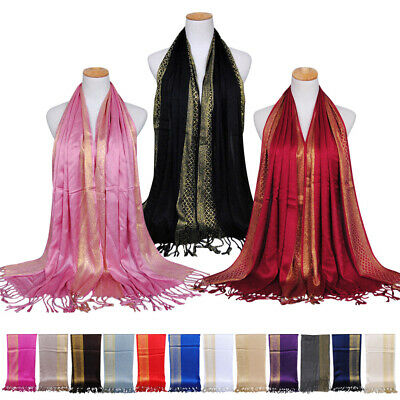Bridal Bridesmaid Multi Color Design Shawl Cosy Long Night out Scarf Wrap Stole