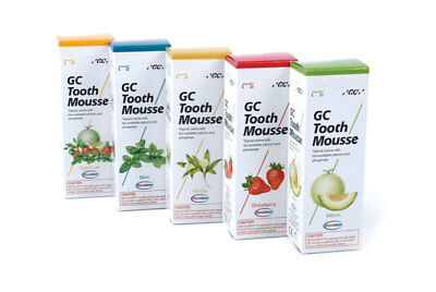 Gc Tooth Mousse Topical Tooth Cream With Recaldent 1 Tube Of 40Gm Free Shipping