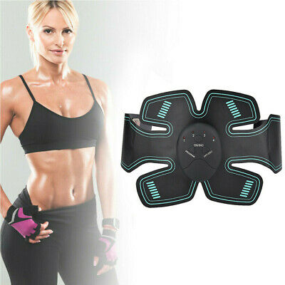 EMS Slim Stimulator Abdominal Muscle Train Toning Belt Waist Arms ABS Ultimate
