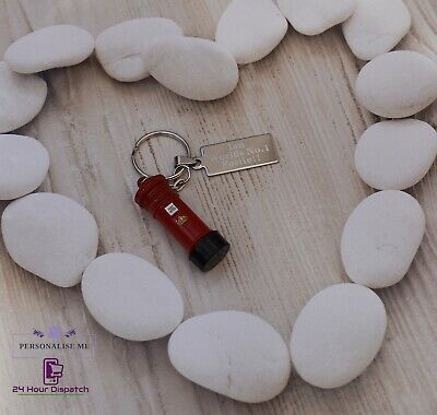 Personalised Postman Post Keyring Courier Thank You Message Gift Royal Mail