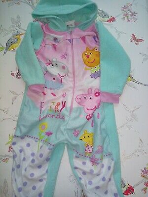 Girls Sleep Suit Age 18-24m Peppa Pig