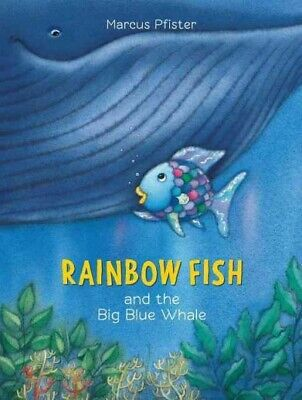 Rainbow Fish and the Big Blue Whale, Paperback by Pfister, Marcus, Like New U...