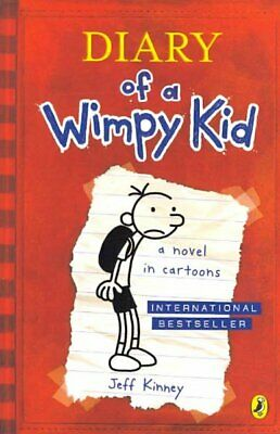 Diary of a Wimpy Kid, Paperback by Kinney, Jeff, Brand New, Free P&P in the UK
