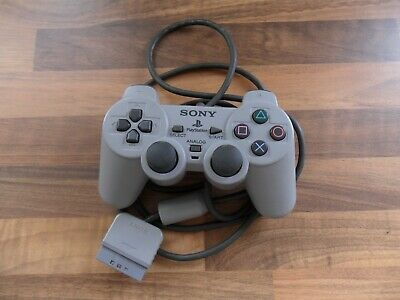 Official Sony PlayStation DualShock Controller - Grey - PS1 SCPH-1200