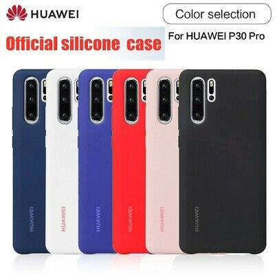 Genuine Silicone Case For Huawei Mate 20 P20 Lite P30 Pro Lite Back Cover