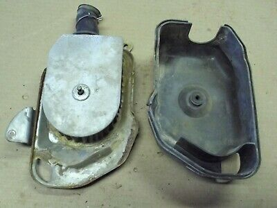 Honda CB200-T 1975 right side air intake, filter, cover