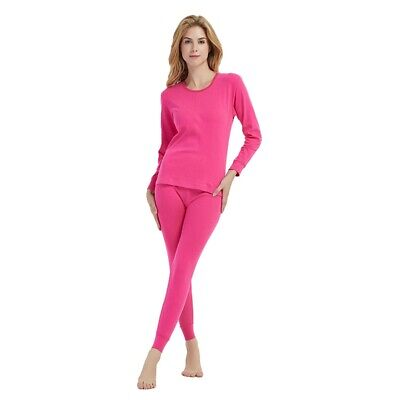 Long Johns Warm Cotton Couple Long Johns Top Bottom Set Thermal Underwear Soft