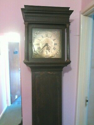 Grand Father/ Longcase Clock Rice Jones Monmouth