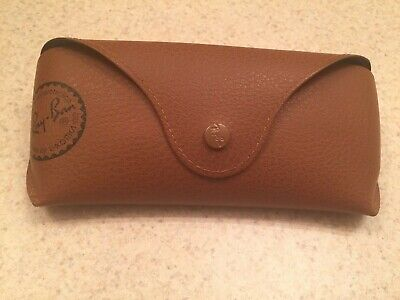 Vintage Ray Ban Bausch Lomb Pebbled Leather Glass CASE ONLY