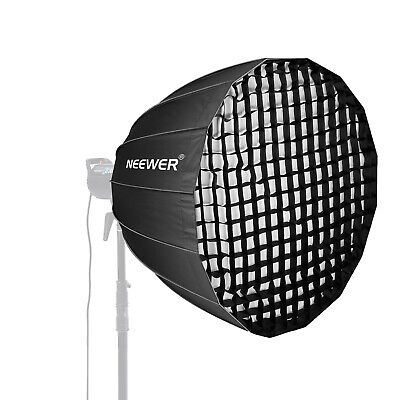 Neewer 48 inches Quick Folding Deep Parabolic Softbox with Bowens Mount