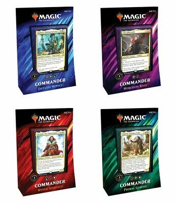Magic:The Gathering Commander 2019 Deck Factory Sealed