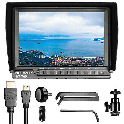 Neewer NW-760 Field Monitor 7 inches IPS Screen for DSLR Camera Camcorder