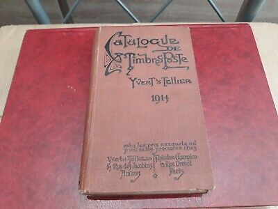 catalogue Yvert et Tellier de 1914 occasion