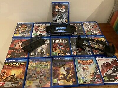PlayStation Vita Bundle - PICK ANY 3 Awesome Games- 8 Gig Memory- Carry Case!