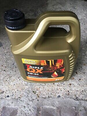 Triple QX 5W-30 SynPlus Fully Synthetic Oil 5L Ford, Renault, Jaguar, Landrover