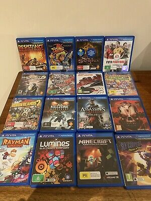 PICK 1 Game For The PlayStation Vita - Choose 1 Game From 16 Titles Only 1 GAME!