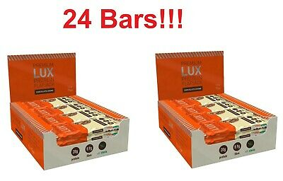 HIGH PROTEIN FLAPJACK BAR 2 boxes of 12 (24 BARS!) - Low Sugar (Chocolate Chunk)