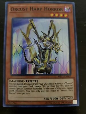 *** Orcust Harp Horror *** Super Rare Mint/Nm Op11-En007 Yugioh!