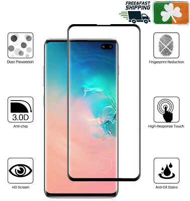 Samsung Galaxy S10/S10 Plus CASE FRIENDLY 5D HD Tempered Glass Screen Protector