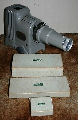 Elmo Elmoslide-51 - Film Strip & Slide Film Projector - Working - RARE