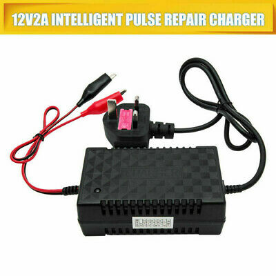Automatic Intelligent 12V Motorcycle Motorbike Battery Charger Smart Trickle Toy