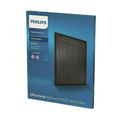 Philips FY3432/10 Nanoprotect Filter, Black