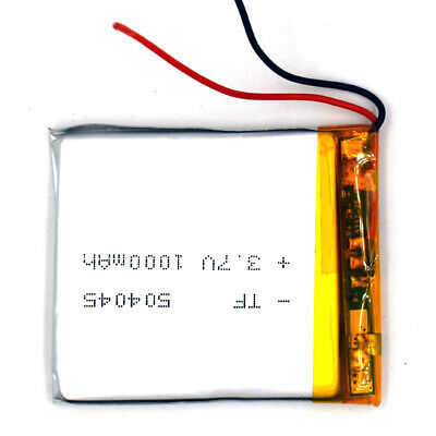 3.7V Lipolymer Cell 504045 1000mAh Rechargeable Cell Lipo Battery For GPS MP3