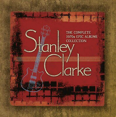 Stanley Clarke 7 CD box set The Complete 1970s Epic Albums Collection[SKU 1wo-6]