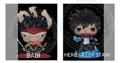 Funko Pop - Dabi & Stain  - My Hero Academia Nycc 2019 Shared Exclusive Preorder