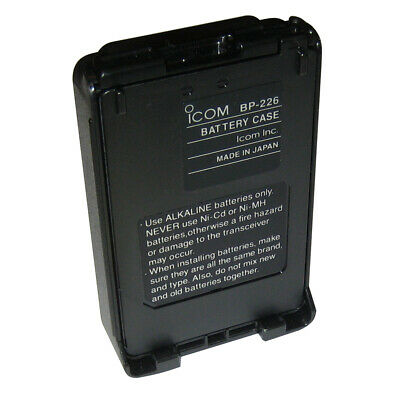 Icom Alkaline Battery Case f/M88 BP226