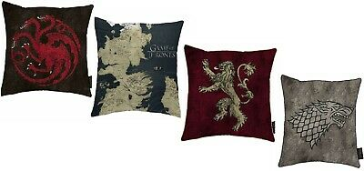 Game of Thrones Cushion Selection - Stark Lannister Targaryen Xmas Birthday Gift