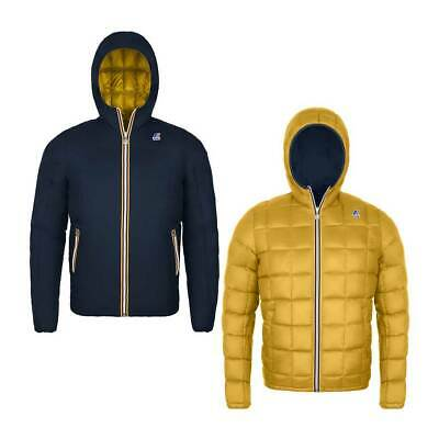 Piumino Kid / Junior K-Way Jacques Thermo Plus Double Blue / Yellow 219