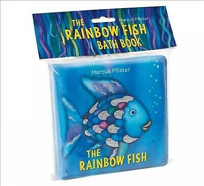 Rainbow Fish Bath Book, Hardcover by Pfister, Marcus, Like New Used, Free P&P...