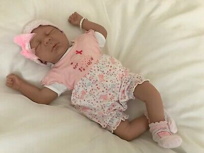 Reborn Baby Girl Doll plus 2 Outfits and accessories