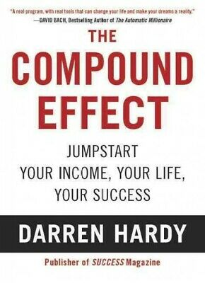 Compound Effect, Paperback by Hardy, Darren, Like New Used, Free P&P in the UK