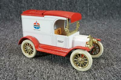 Vintage ERTL Co. Replica Ford 1913 Model T Van Amoco Oil Company Coin Bank