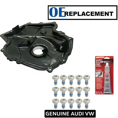 One New Engine Timing Cover Nut 049109207 for Audi Volkswagen VW