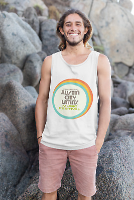 ACL Austin City Limits Music Festival 2019 Men Tank Tops Made in US Size S - 2XL