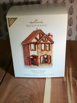 Hallmark Keepsake 2008 Mayor's Home Special Edition Nostalgic Houses and Shops