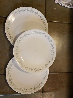 Corelle Country Cottage  3  Dinner Plates