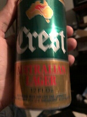 """1 only COURAGE BREWERY Australian,Issue /"""" Crest Lager /"""" collectable COASTER"""