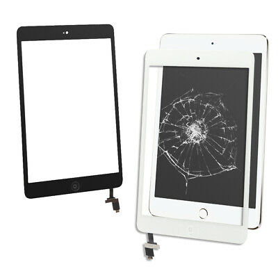 For iPad mini 1 2 Touch Screen Digitizer Glass Replacement White&Black