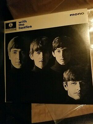 """The Beatles """"With The Beatles"""" 1980s  """"MONO"""" Remastered Capitol Records Vinyl"""