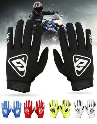 1* pair Motorcycle bicycle gloves Full Finger Sport Racing Gloves SIZE-M/L/XL