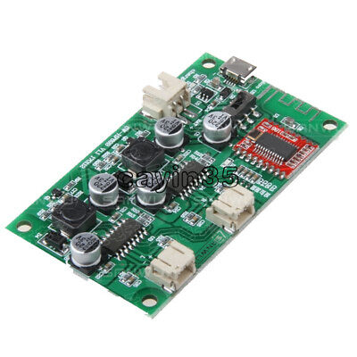 DC5V 2*6W 2-channel Stereo Bluetooth Amplifier Board Lithium Battery powered AMP