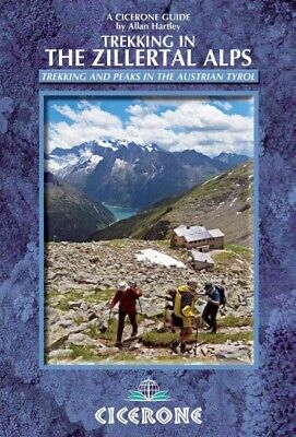 Trekking in the Zillertal Alps, Paperback by Hartley, Allan, Brand New, Free ...