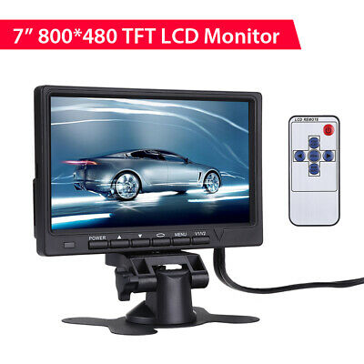 """7"""" Color TFT LCD HD Monitor 800*480 300cd/m2 for Car DVD Rear View Camera DVR"""
