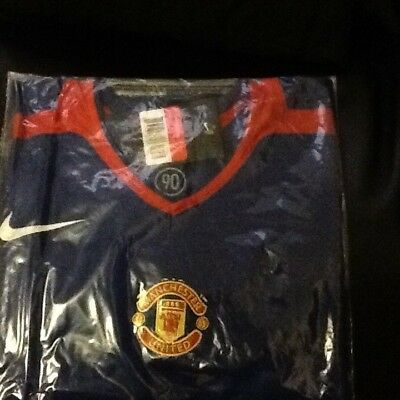 Rare BNWT Nike Manchester United 2005 Player Issue SS 3rd Shirt size Large